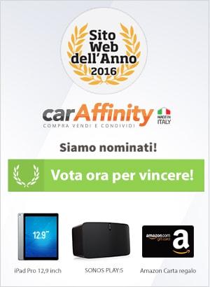 carAffinity.it sitowebdellanno 2016
